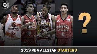 Ang LAKAS ng Starters ng North & South All stars | 2019 PBA All Star