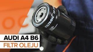 Jak wymienić olej silnikowy i filtr oleju w AUDI A4 B6 TUTORIAL | AUTODOC