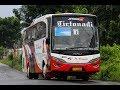 Suara Ghaib Knalpot  SPOK SPOK    Kedatangan dan Keberangkatan Bus Haryanto di Terminal Kartosuro
