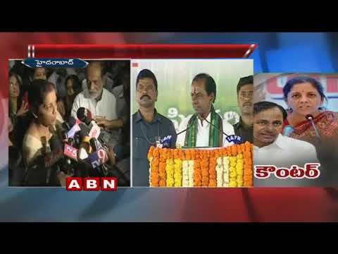Minister Nirmala Sitharaman angry on CM KCR over comments on PM Modi