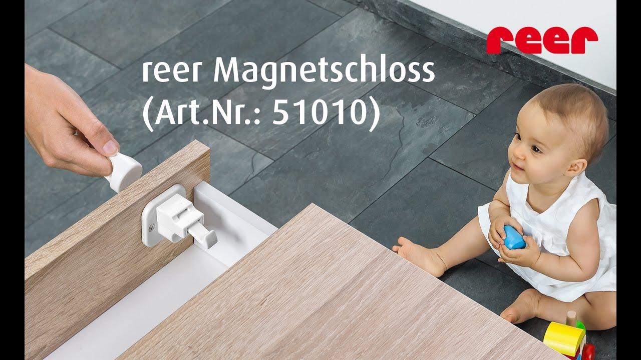 Reer Magnetschloss Art Nr 51010 Youtube