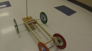 Science Olympiad - 2014 1st Place States Wheeled Vehicle