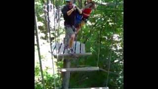 How not to treetop trek