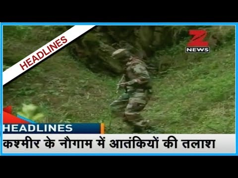 Four terrorists killed and three soldiers martyred in Kashmir's encounter
