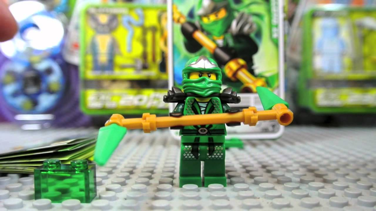 Lego Ninjago 9574 Lloyd ZX Spinner Pack Review