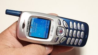 Samsung Vintage SGH C225 шикарный мобильный телефон из 2004 года. Актуальный телефон и в 2020 году