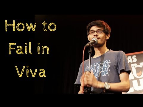 How To Fail In Viva | Stand-Up Comedy By Mohd Suhel(With Lyrics)