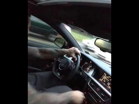 Audi S5 VS Bmw M3 Street Race