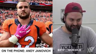 You Betcha Radio - Episode 3 - Nebraska Native & NFL Fullback Andy Janovich