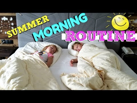 MORNING ROUTINE ON VACATION!!!