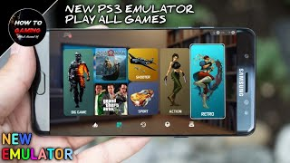 ||NEW PS3 EMULATOR 2018||DOWNLOAD PLAYSTATION 3 EMULATOR IN ANDROID||APK+OBB||