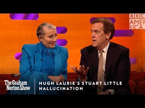 Hugh Laurie's Stuart Little Hallucination | The Graham Norton Show | Friday @ 11pm | BBC America