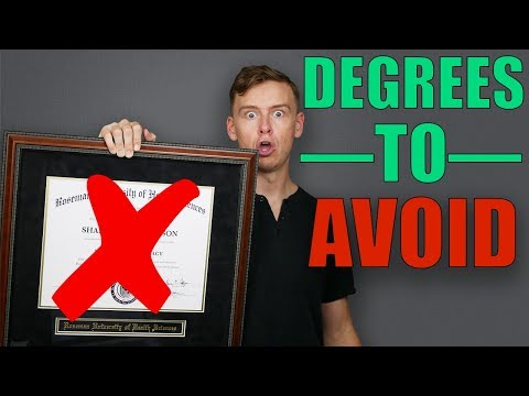 The Most Useless Degrees…