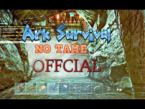 RAID IN BEAR CAVE NO TAME PART 3&4 ARK SURVIVAL