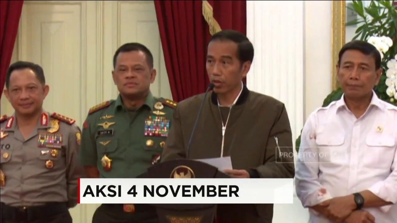 Full Pidato Presiden Jokowi Soal Demo  Youtube