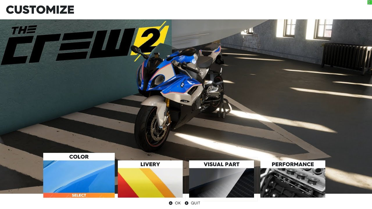 bmw s1000rr test ride and customization the crew 2 beta youtube. Black Bedroom Furniture Sets. Home Design Ideas