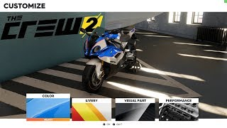 BMW S1000RR TEST RIDE AND CUSTOMIZATION - The Crew 2 Beta