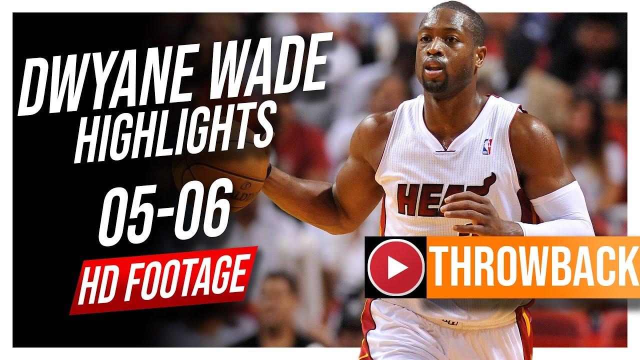 b29c4f1178a Dwyane Wade THROWBACK 2005-2006 Heat Season Highlights ᴴᴰ