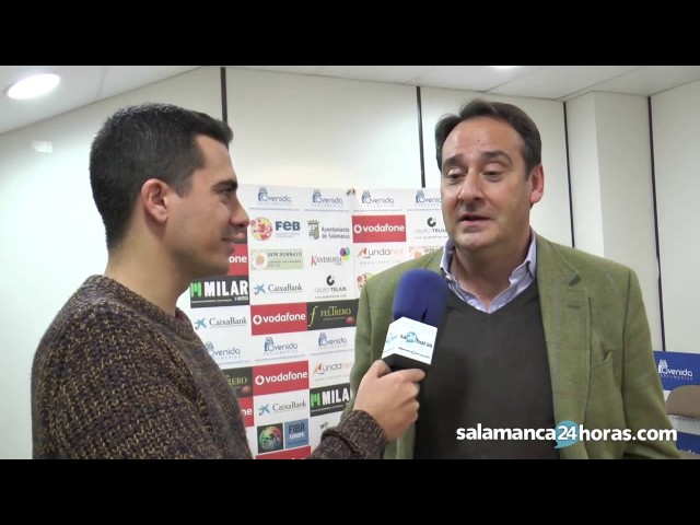 Entrevista con Jorge Recio antes de la Copa de la Reina 2017