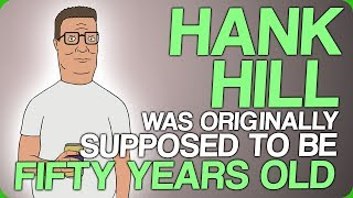 Hank Hill Was Originally Supposed To Be Fifty Years Old (Animated Shows Which Change Over Time)