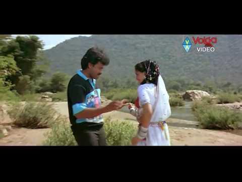Kondaveeti Donga Songs - Chamak Chamak - Chiranjeevi,Vijayashanti - HD