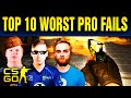 Top 10 Cringiest Pro Fails In CS:GO History