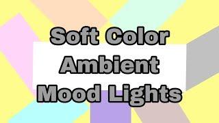 Soft Color Changing Screen Mood Light|Disco Flashing Lights|Raining Bubbles screenshot 3