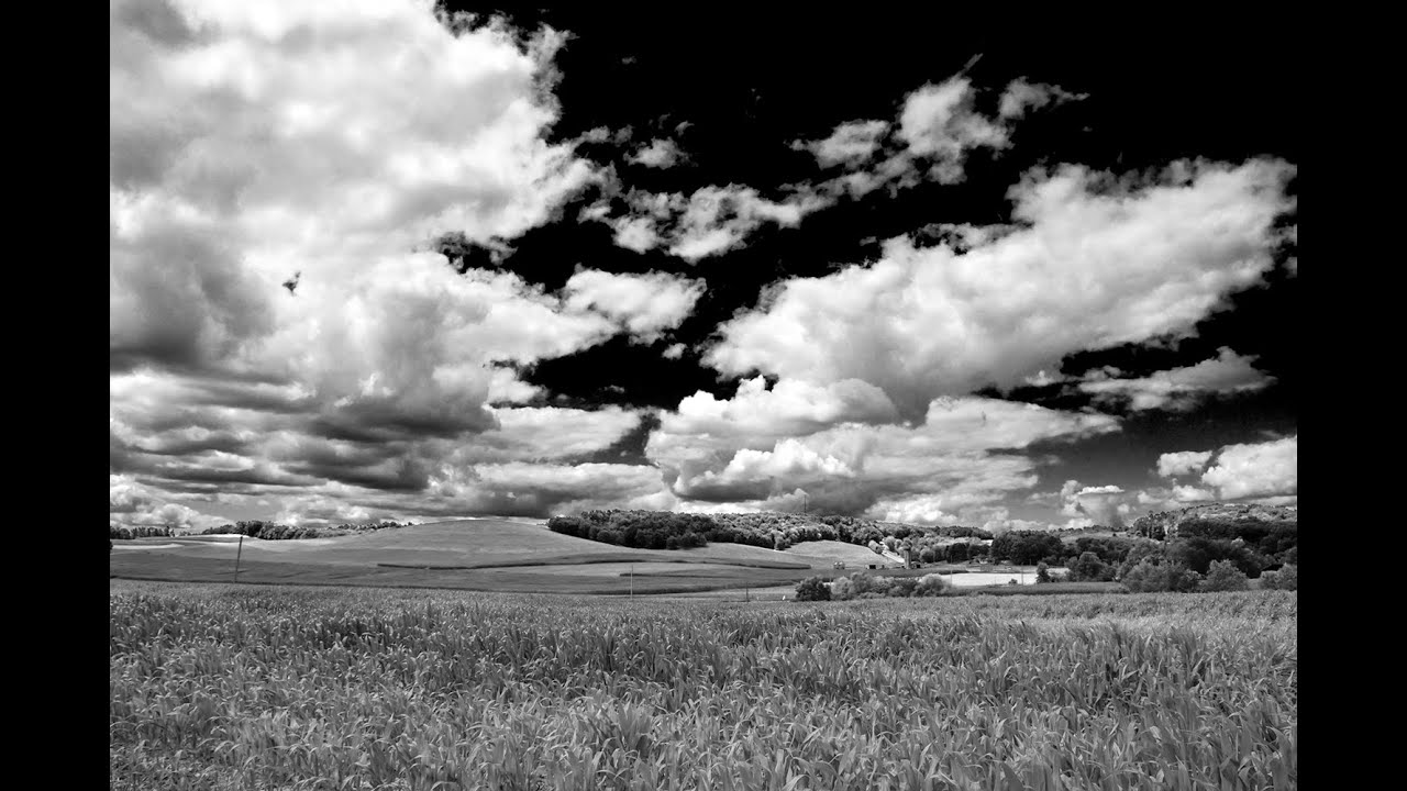 #1 dramatic black and white landscape