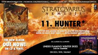 """Stratovarius Nemesis Album Prelistening 11 """"Hunter"""" Snippet (Special Edition Bonus Track)"""