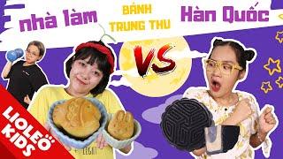Tấm Cám Đại Chiến-Bánh trung thu nhà làm vs bánh trung thu Hàn Quốc-Món quà bất ngờ ngày Trăng Rằm
