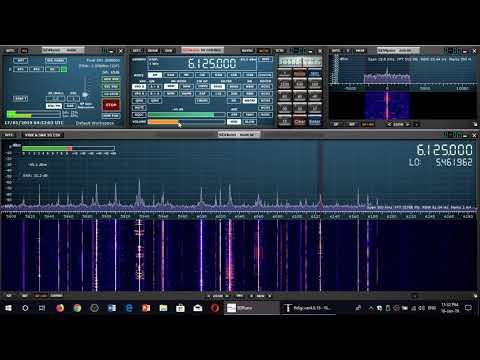 Voice of Turkey 0430 UT 6125 Khz Shortwave on Sdrplay RSP1A