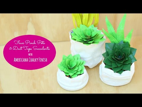 DIY Faux Succulents
