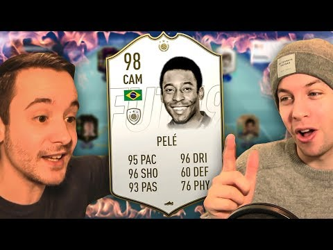 OMG I GOT 98 RATED PRIME PELE!!! - FIFA 19 ULTIMATE TEAM PACK OPENING