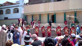 Passion Play - Part 6, Jesus Mocked and Begins Procession to Golgatha