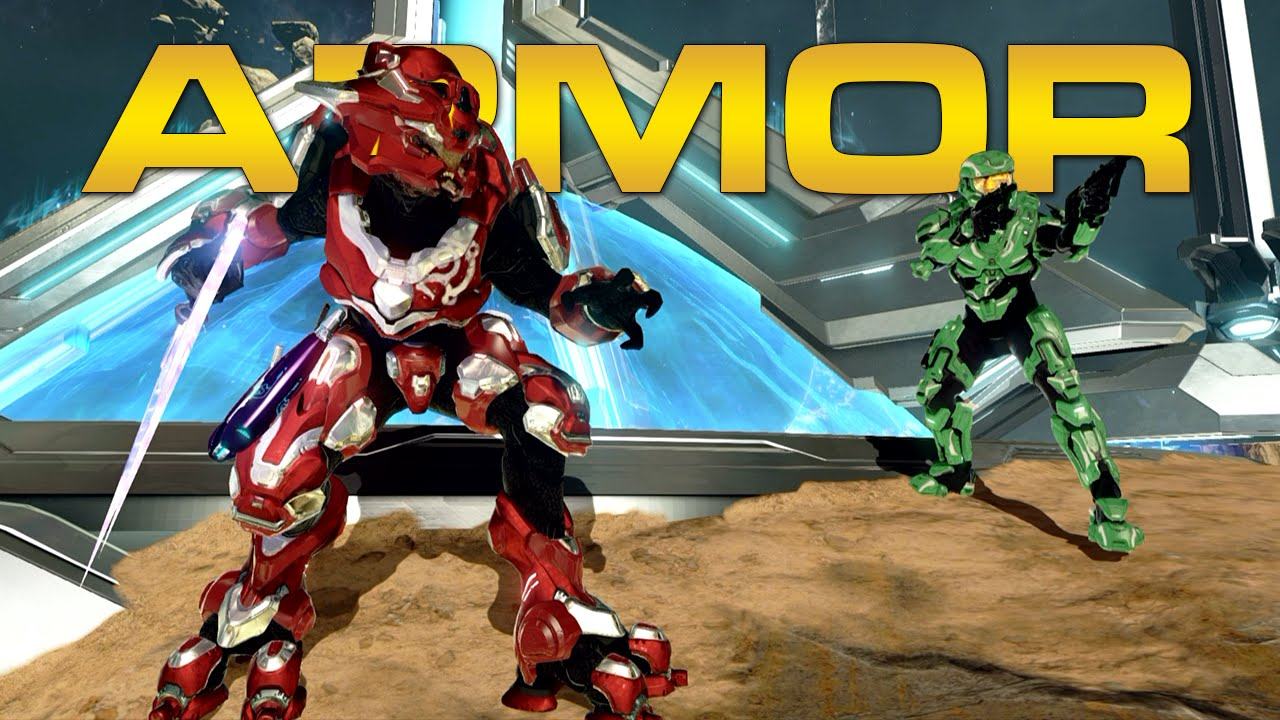 Halo 2 Anniversary Armor Customization Spartans And Elites