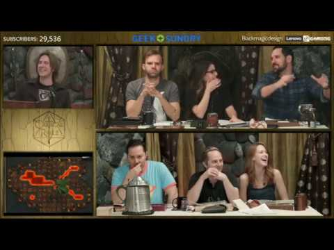 Cute Laura and Travis Moment ♡ Critical Role Episode 80