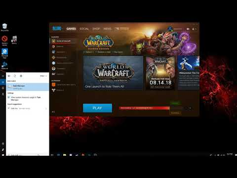 World of Warcraft download stuck at 0 B/s solution windows 10