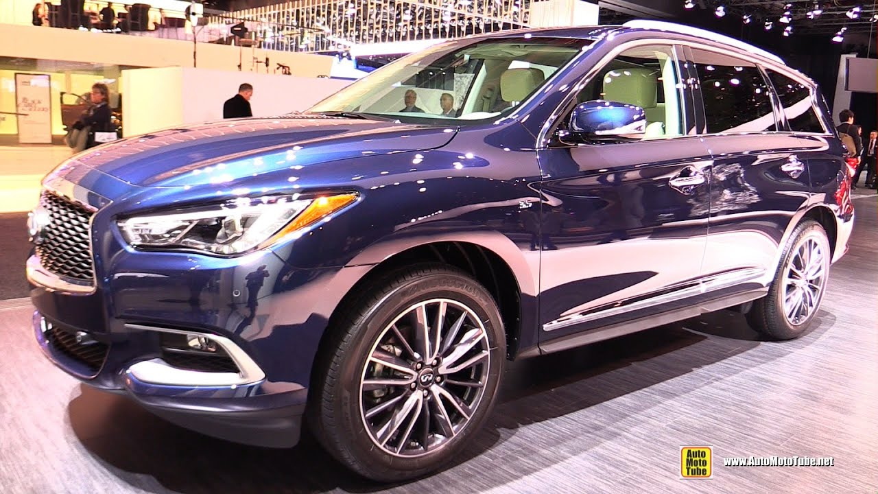 2016 Infiniti Qx60 Exterior And Interior Walkaround Detroit Auto Show