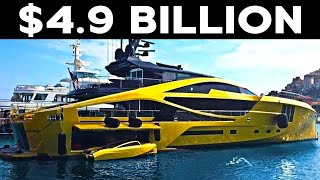 The Most Expensive Yacht In The World | History Supreme