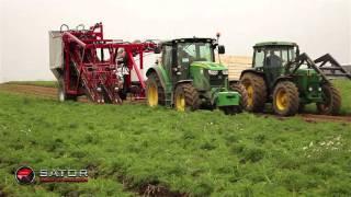 Double Max - 2 Row Carrot Harvester / Dwurzędowy kombajn do marchwi