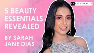 5 BEAUTY Essentials REVEALED By Sarah Jane Dias At Lakme Fashion Week 2019 | BeBeautiful