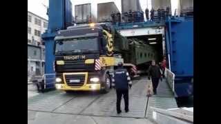 видео перевозка негабаритных грузов в Москве