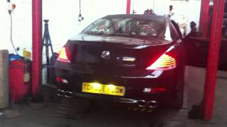 BMW E63 630i Exhaust Modification - Torqueflow