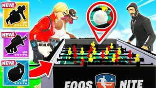 FOOSBALL for YOUR LOOT *NEW* Game Mode in Fortnite Battle Royale