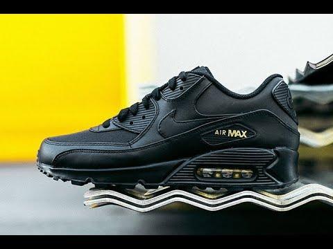 Nike Air Max Black Gold