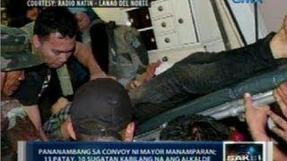 Saksi: Convoy ni Nunungan Mayor Abdul Malik Manamparan, tinambangan