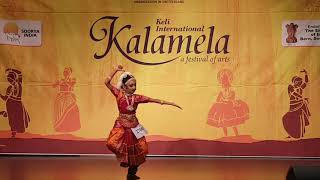 Bianca Maria Rodrigues, Barathnatyam_solo performing at Keli Kalamela 2019,Switzerland