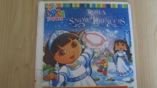 Dora the Explorer - Dora Saves The Snow Princess ! - Read Aloud Story Books