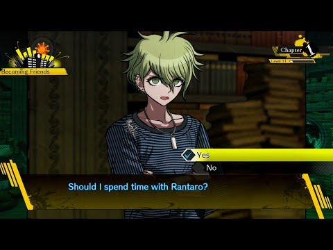Danganronpa V3 - Rantaro Amami (Ch. 1) Free Time Events