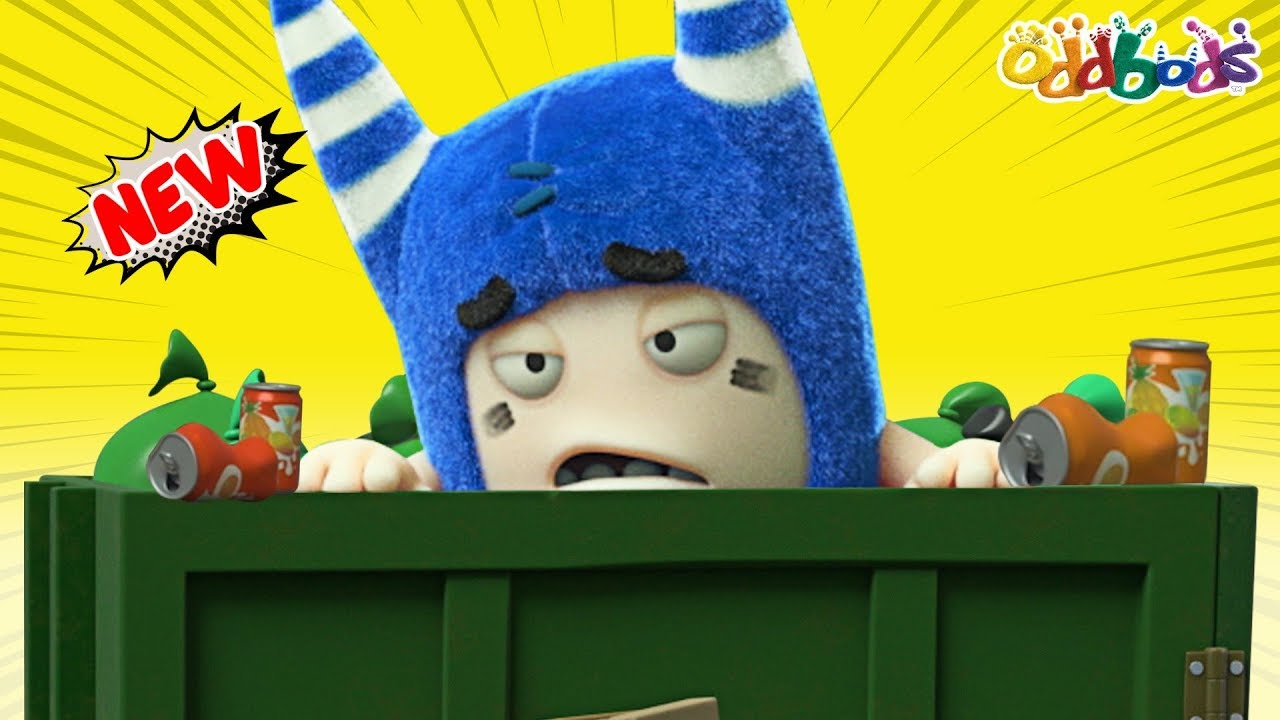 Oddbods | NEW | Dumb Dumpster | Funny Cartoons For Children
